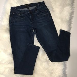 Banana Republic Dark Wash Legging Jeans Size 25/0P